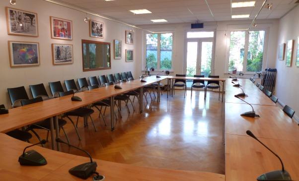 Social Platform meeting room
